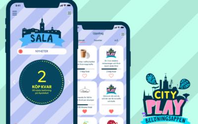 Bra mottagande i Sala av appen Cityplay