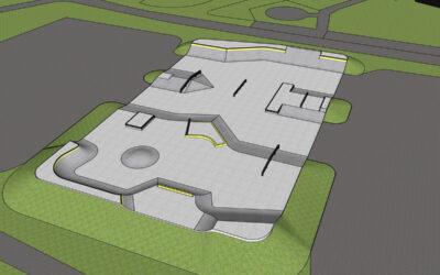 Skateparken i Sala börjar byggas