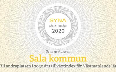 Salas företag har näst bäst tillväxt i länet